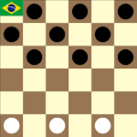 Brazilian checkers / draughts icon