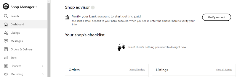 Verify account steps
