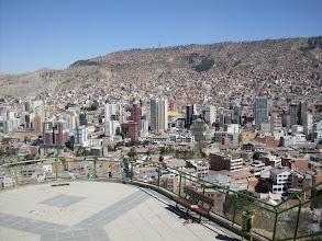 Photo: La Paz, Aussicht von Kili-Kili