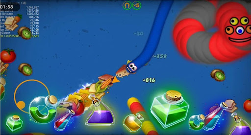 New Cacing.io 2020: Snake Zone Worm Mate Games screenshots 2