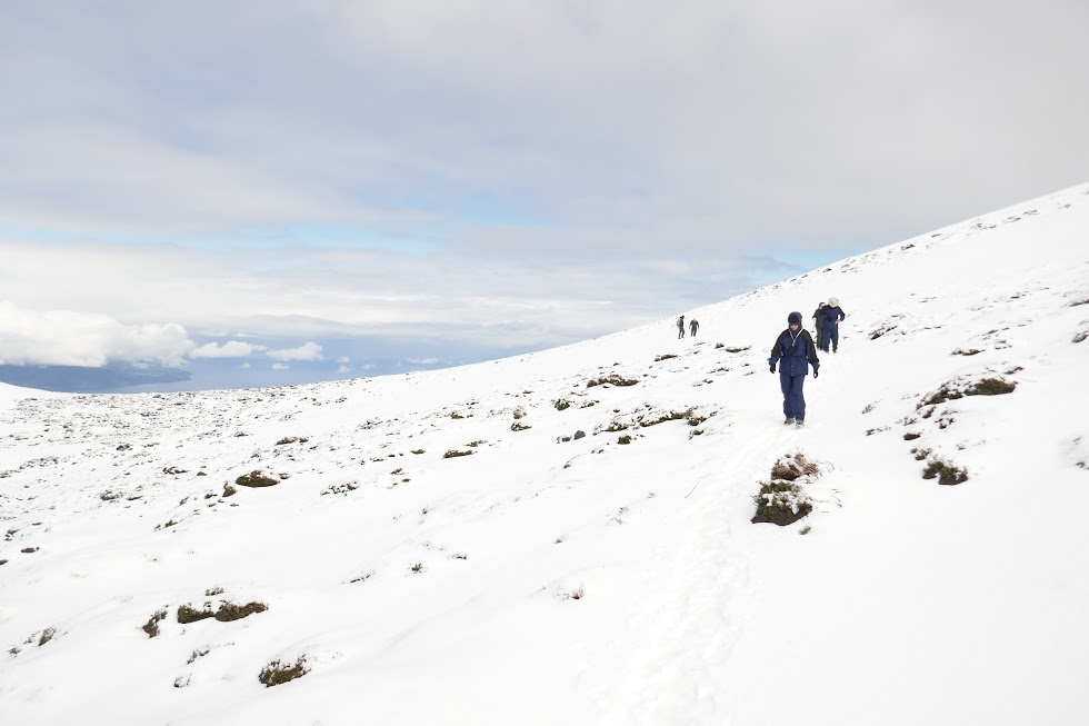 Hiking on Osorno