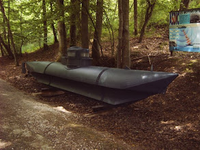 Photo: mini-duikboot