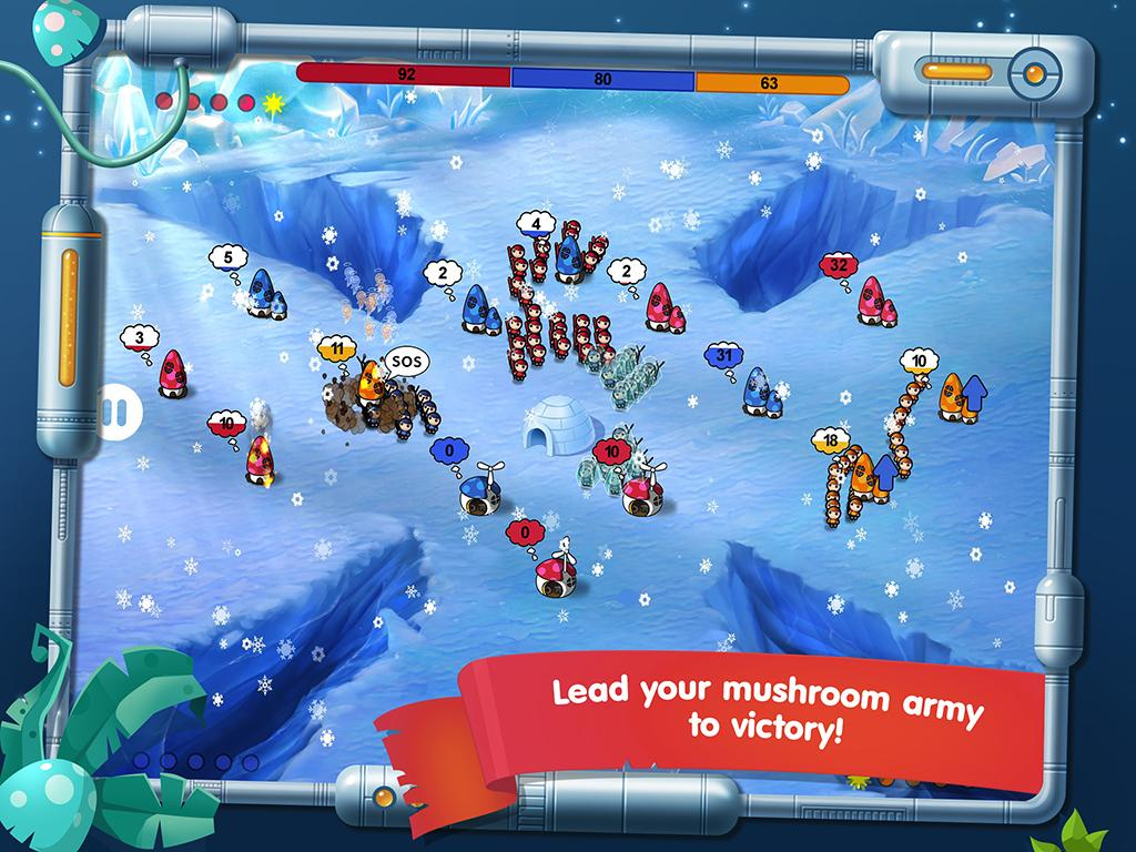 Mushroom Wars: Space!- screenshot