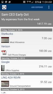 ExpensePath Mobile - náhled