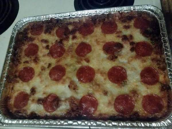 Spaghetti And Pizza Together, In One Delicious Meal!