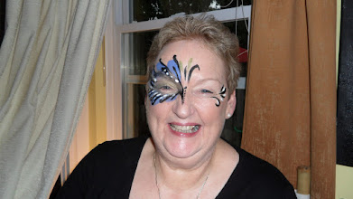 Photo: Beautiful Adult Face Painting by Paola Gallardo form http://www.BestPartyPlanner.net