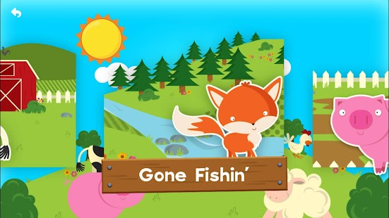 Farm Story Maker Activity Kids Game for Toddlers- screenshot thumbnail