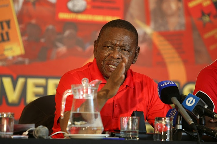 SACP secretary general and former Higher Education Minister Blade Nzimande.