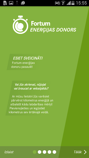 Fortum Enerģijas Donors 2015