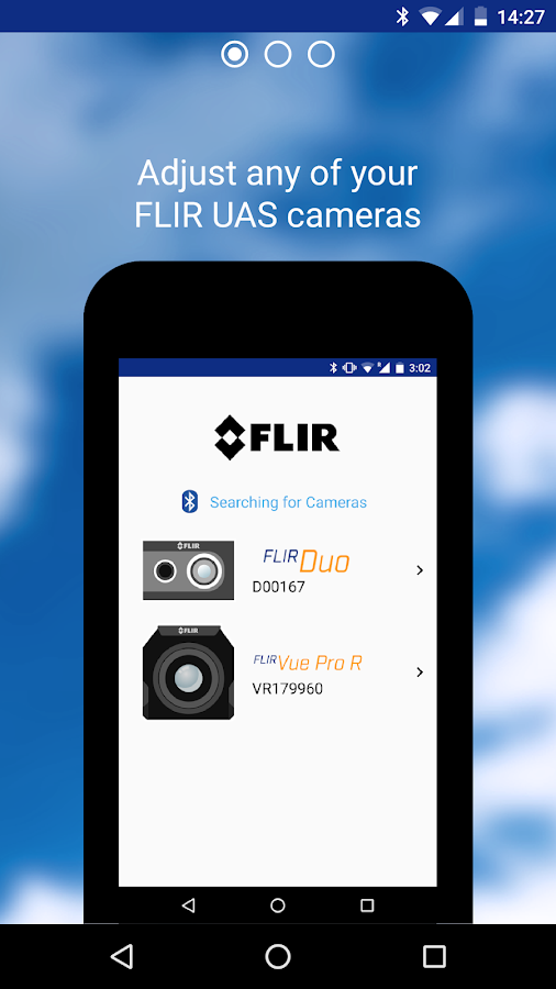 FLIR UAS™- screenshot