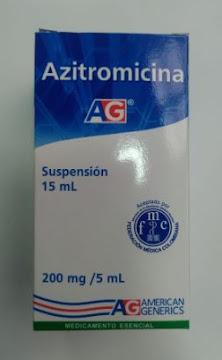 AZITROMICINA 200MG/5ML   SUSPENSIÓN ORAL FCOX15ML LA FRANCOL AZITROMICIN