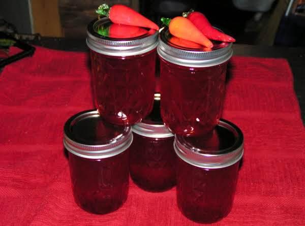 Red Jalapeno Pepper Jelly - Dee Dee's Recipe