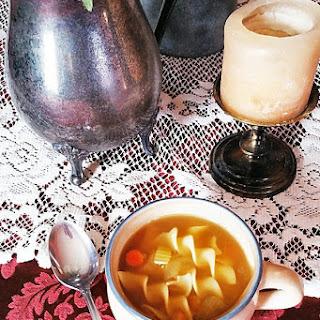 Chickpea Noodle Soup Recipe
