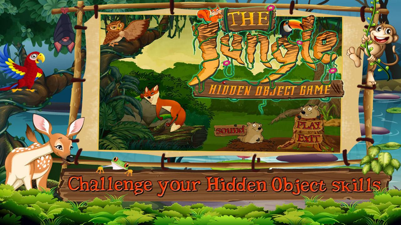 Free New Hidden Object Games Free New The Jungle- screenshot