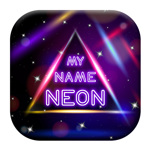 My Name Neon LIve Wallpaper