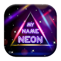 My Name Neon LIve Wallpaper icon