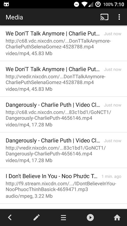 Amaze Browser Download-Cast-AV- screenshot