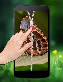 Butterfly Zipper Lock screenshot