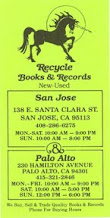 Photo: Recycle Books