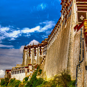TIBET LHASA PALACE by Ronz'da Dezign - Travel Locations Landmarks ( pwclandmarks )