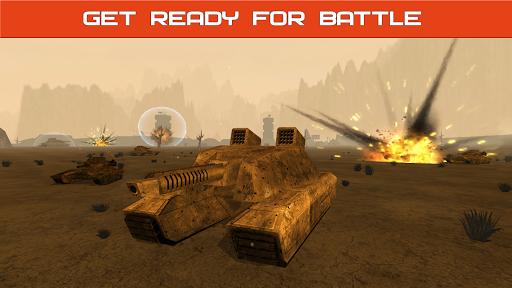 Tank Combat : Future Battles  captures d'u00e9cran 9
