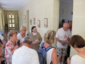 Photo: 13.10.12StJulien : Sœur Ellis,Mère Abesse, rencontre au monastère des Clarisses