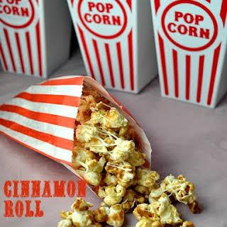 Cinnamon Roll Popcorn.