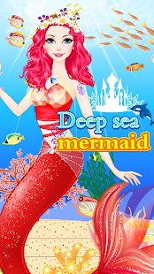 Mermaid Dress Up Show-Fun Makeover Girly Games - náhled