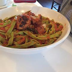Gf spaghetti and gf meatballs