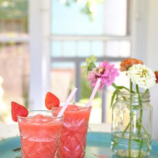 Strawberry Frosé (Frozen Rosé) Recipe