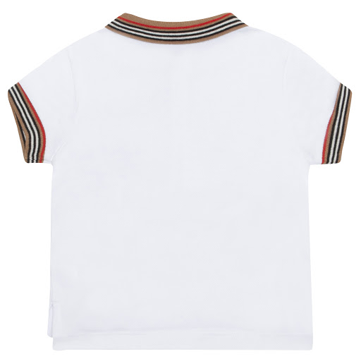 Thumbnail images of Burberry Baby Cotton Piqué Polo