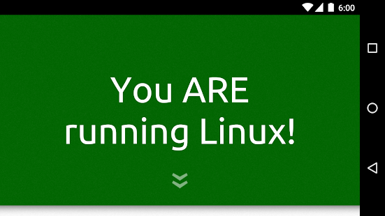 Am I Running Linux?- screenshot thumbnail