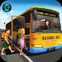School Bus Driver Simulator 2018: City Fun Drive icon