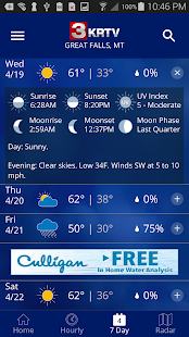 KRTV STORMTracker Weather App- screenshot thumbnail
