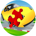 Cars Racing jigsaw icon