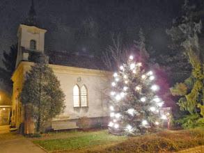 Photo: Die Kapelle von Unterzögersdorf in adventlicher Pracht