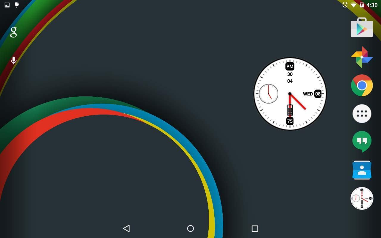 Maestro Clock Widget [Free]- screenshot