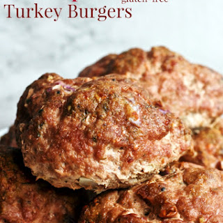 Greek Spiced Turkey Burgers Recipe