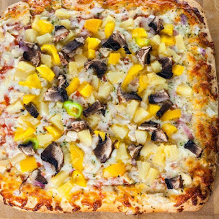 Weight Watchers Chicken and Mushroom Bread Pizza