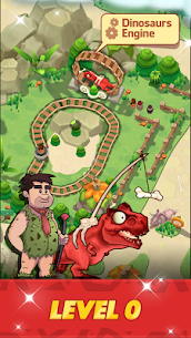 Stone Park: Prehistoric Tycoon MOD APK 1.4.2 (Unlimited Gold Coins) 1
