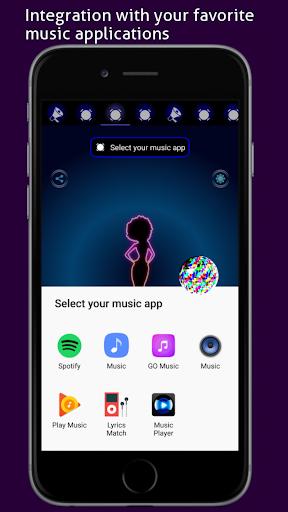Disco Light: Flashlight with Strobe Light & Music screenshot 9
