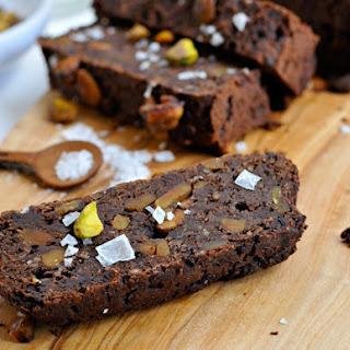Salted Chocolate and Pistachio Energy Bars [Vegan].