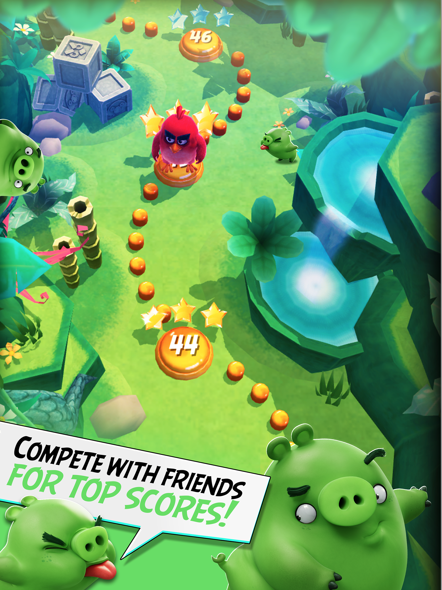 Angry Birds Action! screenshot #14