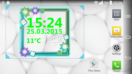 Neon Digital Weather Clock 2.0 screenshot 1039300