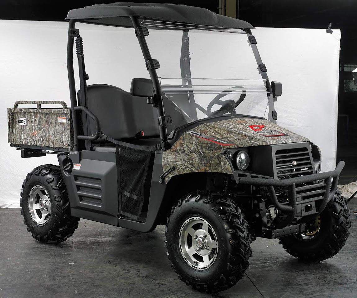 400cc HiSun UTV 4WD Farm Utility Vehicle XUV GT Crossfire Camo