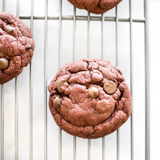 Red Velvet Cake Mix Cookies.
