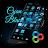 Cyan+Black Go Launcher Theme v1.0 Apk