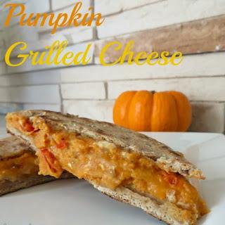 Pumpkin Grilled Cheese Sandwich