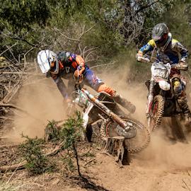 Oops by Hannes Kruger - Sports & Fitness Motorsports ( enduro, motorbike, scrambler, dirt bike, dust )