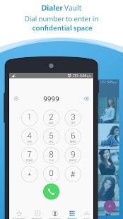Dialer vault I Hide Photo Video App OS 11 phone 8 - náhled